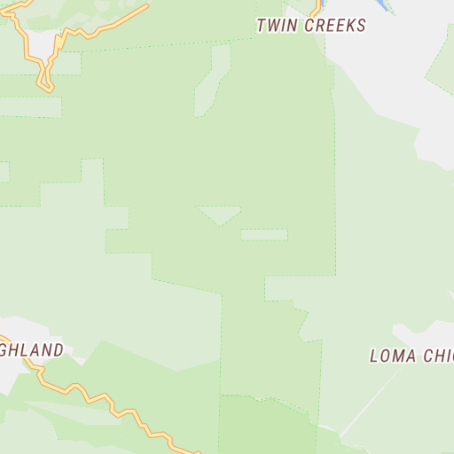 Almaden Quicksilver County Park Guide Map - Santa Clara ...