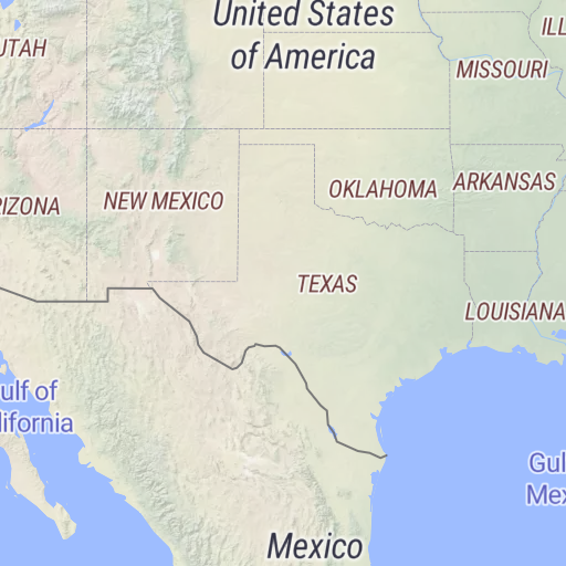 Map Of Texas New Mexico.Avenza Maps